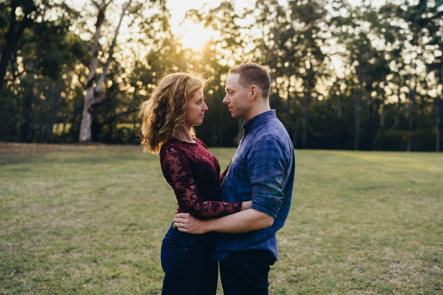 Couples photo shoot in Castle Hill, NSW, Australia