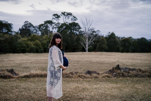 Maternity shoot in Galston, NSW, Australia