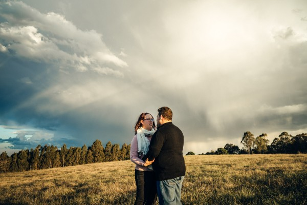 Couple's shoot in Rouse Hill, NSW, Australia