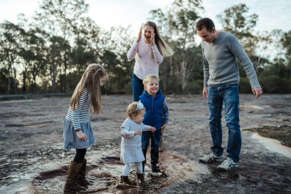 Family shoot in Cattai, NSW, Australia