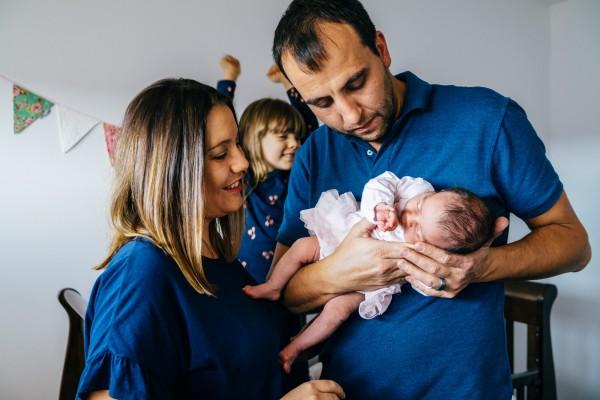 Newborn shoot in Pitt Town, NSW, Australia