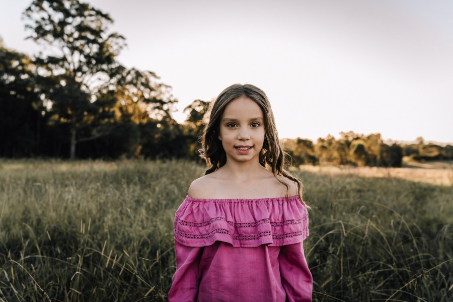 Childrens shoot in Rouse Hill, NSW, Australia