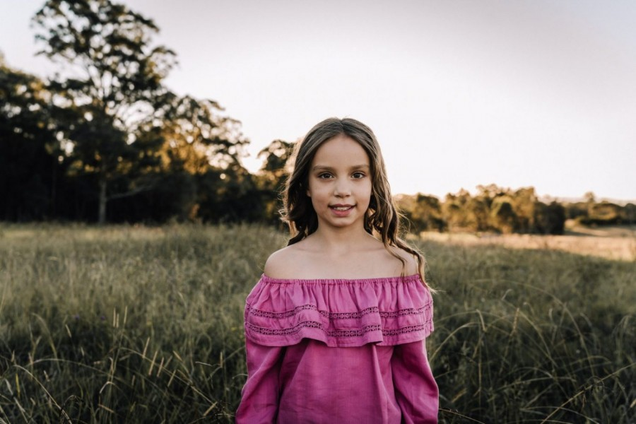 Childrens shoot in Rouse Hill NSW Australia