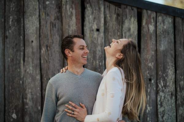 Couple's shoot in Cattal, NSW, Australia