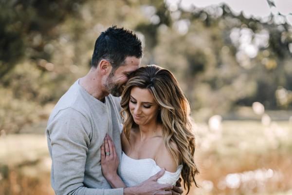 Couple's shoot in Kellyville, NSW, Australia