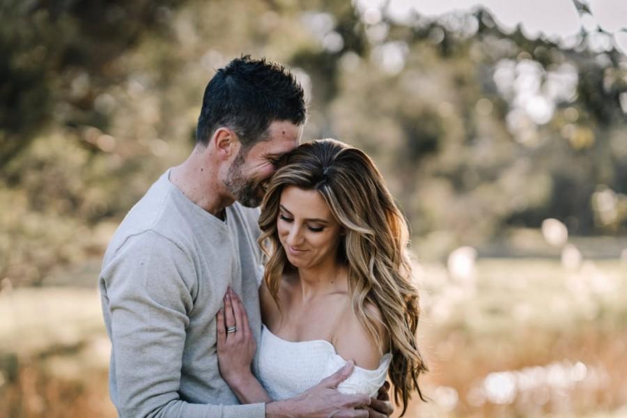 Couple's shoot in Kellyville NSW Australia