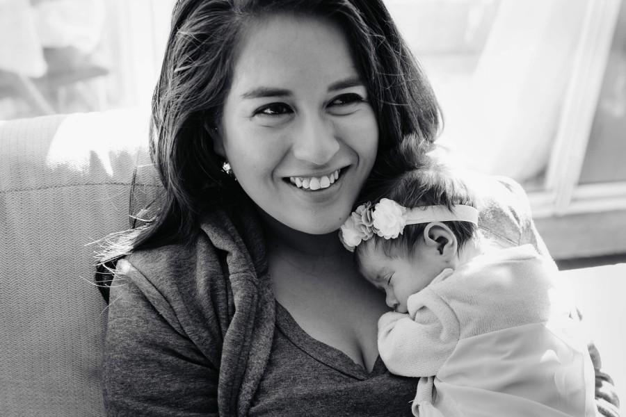 Newborn photo shoot in Chipping Norton, NSW, Australia