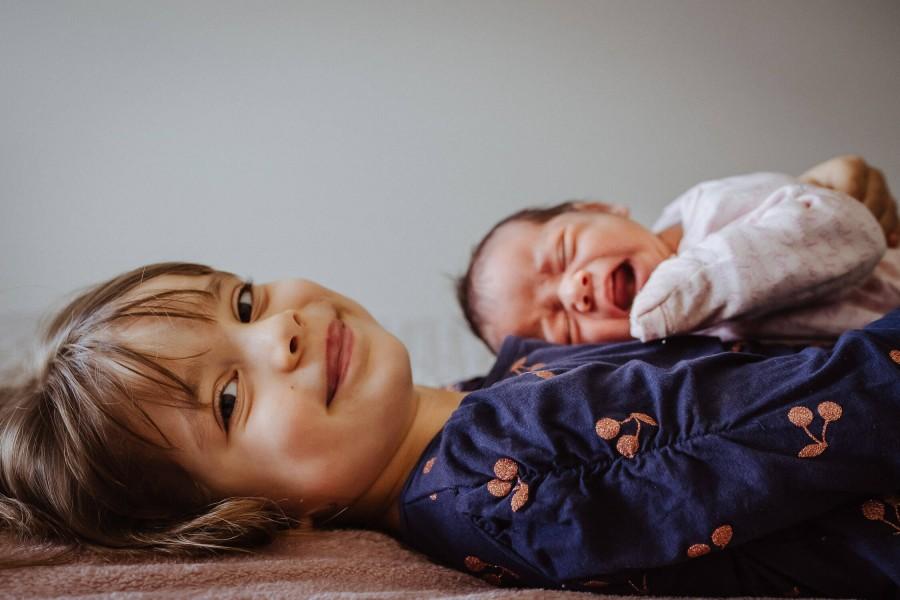 Newborn photo shoot in Pitt Town, NSW, Australia