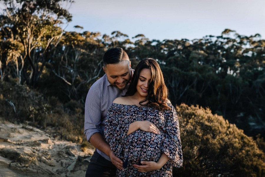 Maternity shoot in the Blue Mountains NSW Australia