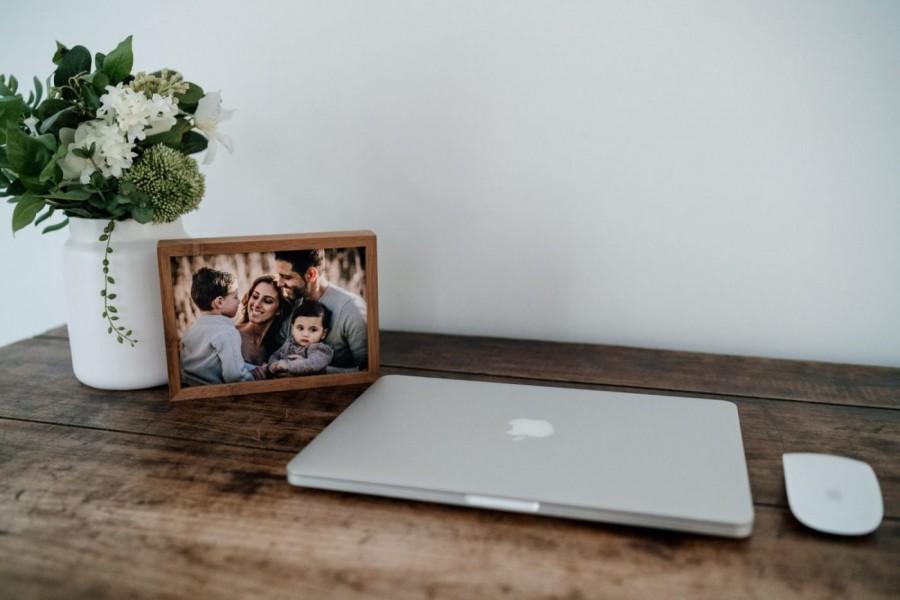 Nerissa J framed desktop print
