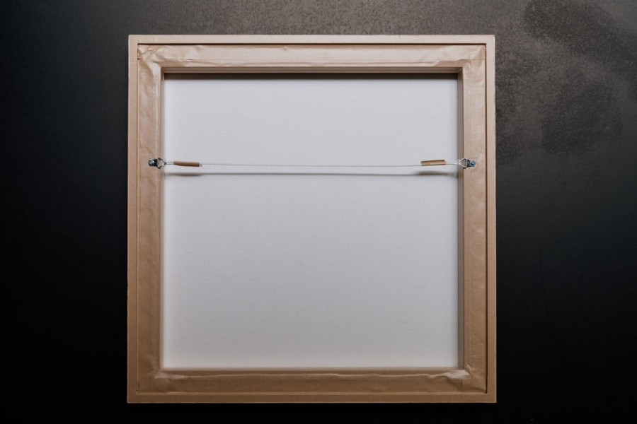 Nerissa J framed canvas back