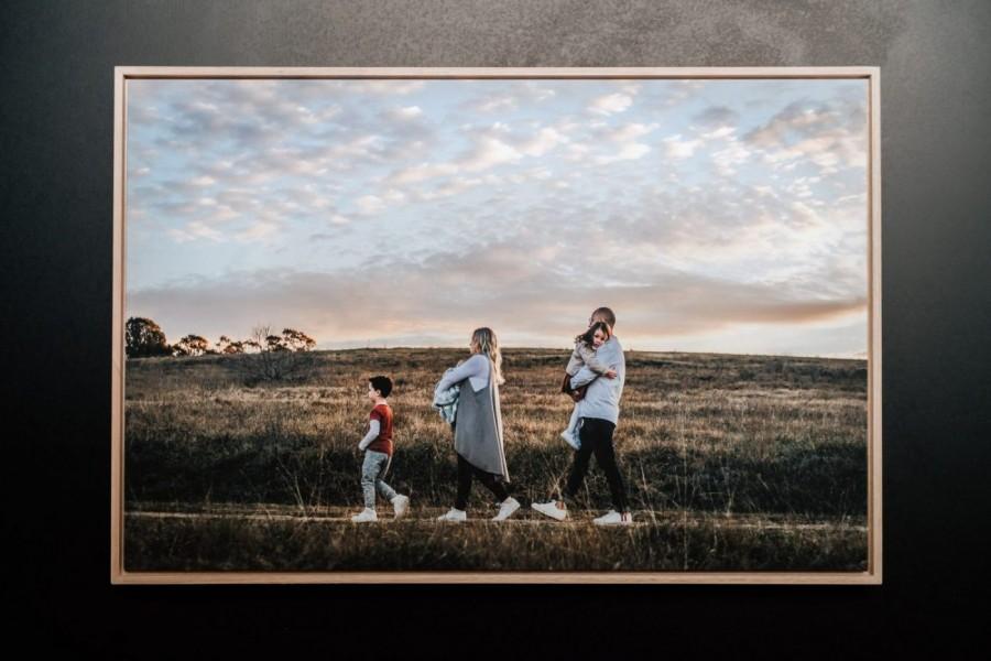 Nerissa J framed canvas