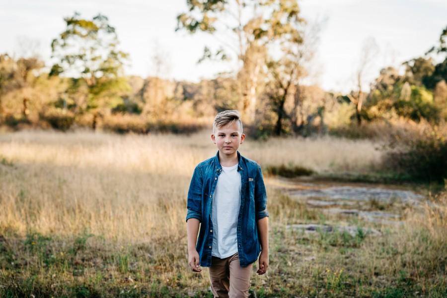 Children's shoot in Cattai, NSW, Australai